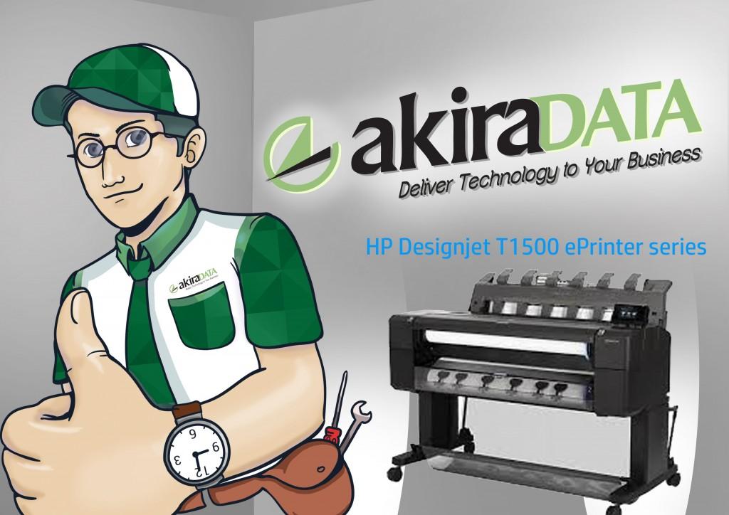 Jasa service plotter HP Designjet T1500 ePrinter series