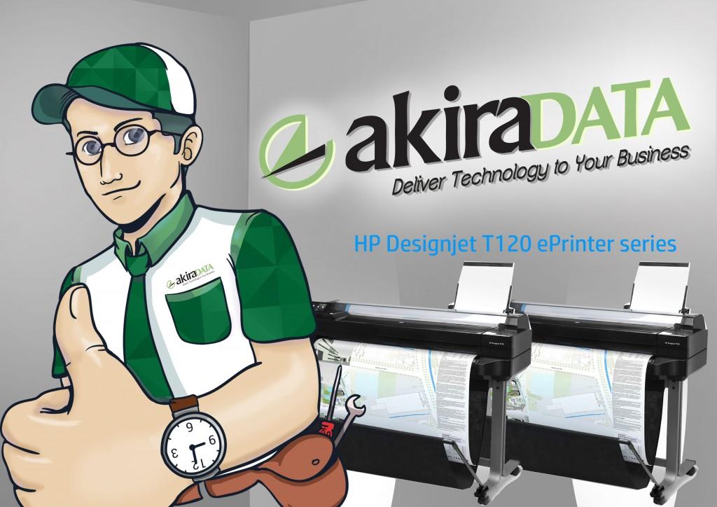 Jasa service plotter HP Designjet T520 ePrinter series